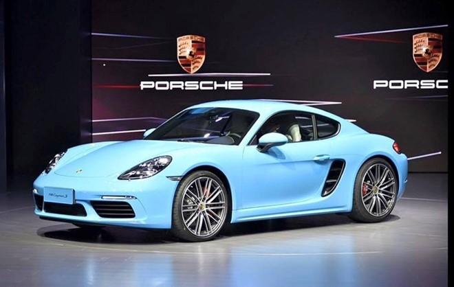 Xe Porsche hut khach o Trung Quoc hinh anh 1