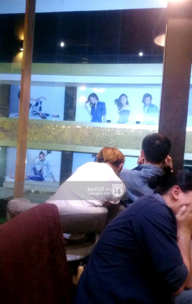 Giữa lùm xùm, Tùng Sơn xuất hiện cùng bạn trai soái ca, thoải mái đi cafe ở Sài Gòn - Ảnh 5.