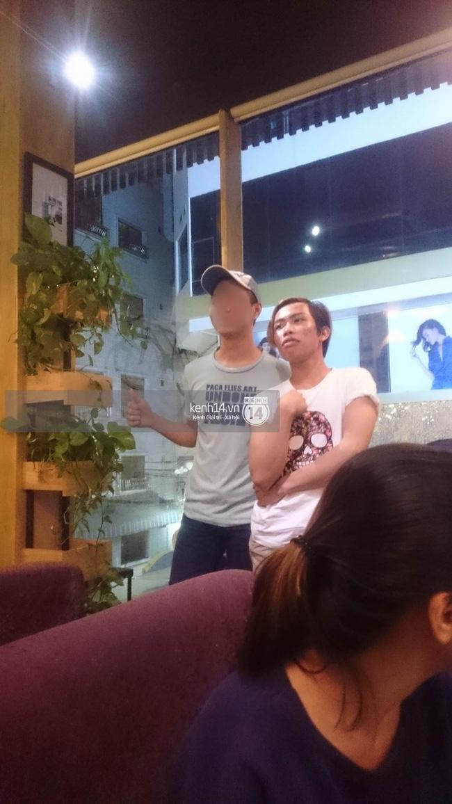 Giữa lùm xùm, Tùng Sơn xuất hiện cùng bạn trai soái ca, thoải mái đi cafe ở Sài Gòn - Ảnh 6.
