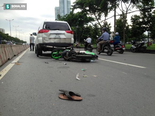 Người bị kéo lê, người đập vào kính xe ô tô trên xa lộ Hà Nội - Ảnh 3.