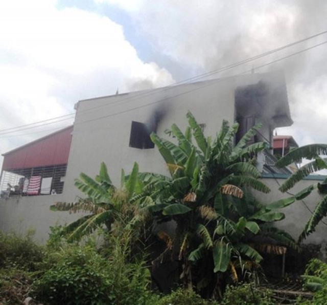 Căn nhà nơi xảy ra hỏa hoạn