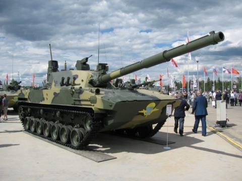 Pháo tự hành Sprut-SDM-1 Việt Nam muốn mua mạnh ngang T-90  - Ảnh 1.