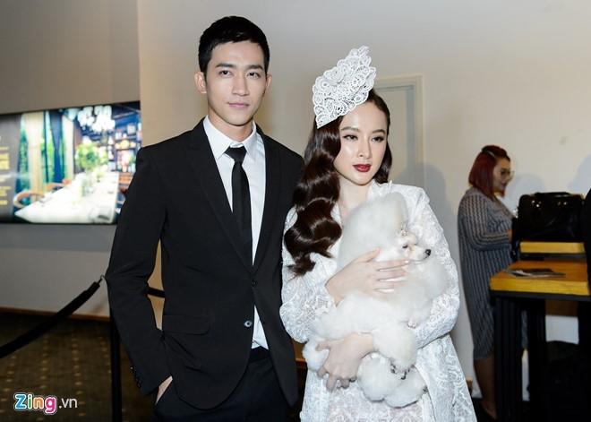 Phuong Trinh duoc ban trai Vo Canh thap tung xem thoi trang hinh anh 2