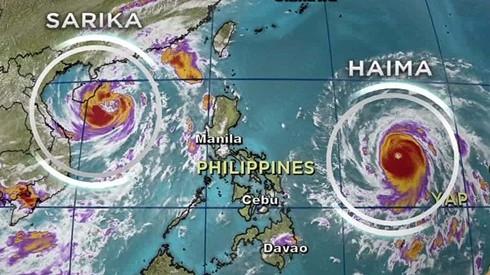 sieu bao haima tan pha phia bac philippines hinh 1