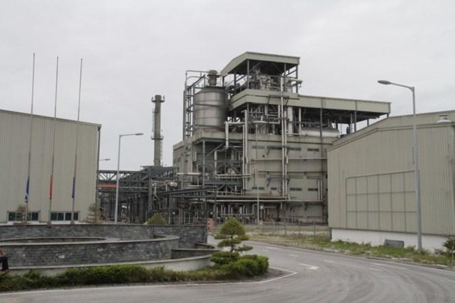 Nhà máy xơ sợi Đình Vũ hiện đắp chiếu vì càng sản xuất càng lỗ  /// Ảnh: PVTex