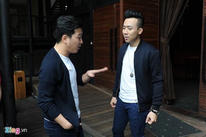Tran Thanh den chuc mung Truong Giang to chuc live show hinh anh 3
