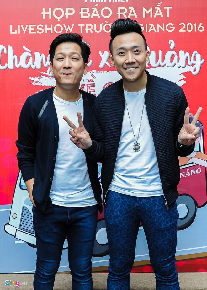Tran Thanh den chuc mung Truong Giang to chuc live show hinh anh 4