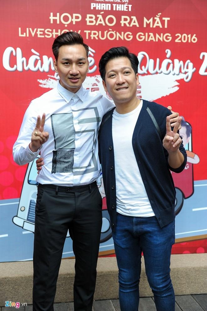 Tran Thanh den chuc mung Truong Giang to chuc live show hinh anh 7