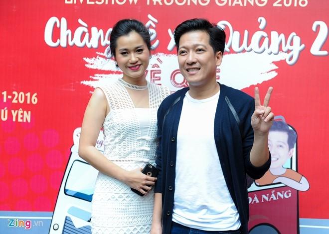 Tran Thanh den chuc mung Truong Giang to chuc live show hinh anh 8