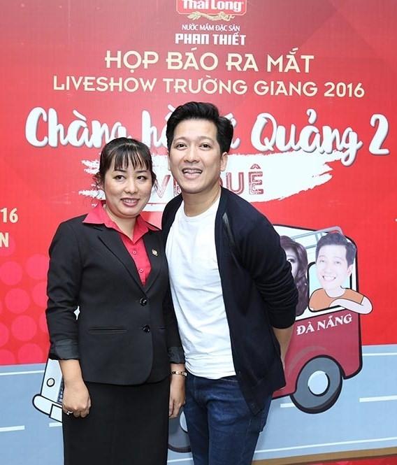 Tran Thanh den chuc mung Truong Giang to chuc live show hinh anh 9