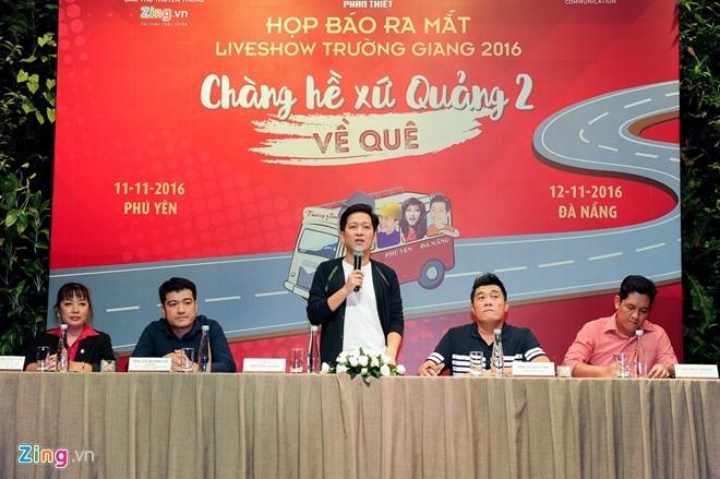 Tran Thanh den chuc mung Truong Giang to chuc live show hinh anh 12