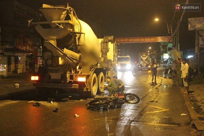 Trên đường đi làm về hai nam công nhân va chạm xe bồn bị cán tử vong - Ảnh 2.