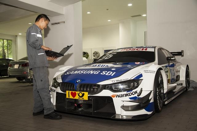 Cận cảnh xe đua BMW M4 DTM sẽ xuất hiện tại VIMS 2016 - Ảnh 1.