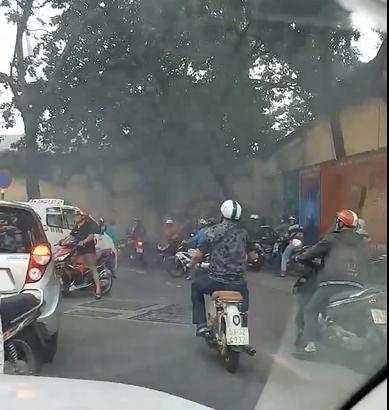 Cháy lớn tại công trình đang thi công ở Sài Gòn - Ảnh 3.