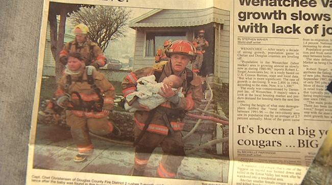 Được cứu mạng trong vụ hỏa hoạn, 17 năm sau, cô bé ngày nào đã có hành động thật ý nghĩa - Ảnh 1.