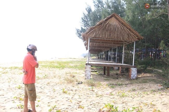 Hoảng hồn phát hiện nam thanh niên chết trong tư thế lạ trên bãi biển Đà Nẵng - Ảnh 1.