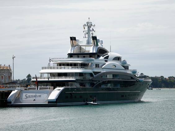 Chân dung chiếc du thuyền Serene, có giá trị lên tới hơn 500 triệu USD