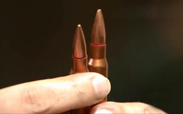 Vận tốc thực tế của đầu đạn đạt 870,7 đến 872,4m/s; khả năng xuyên thép CT3 đồng nhất dày 16mm đặt cố định vuông góc với trục nòng súng ở cự ly 100m đạt tỷ lệ 100%; xuyên áo giáp cấp 3 theo tiêu chuẩn của Mỹ đạt 100%.