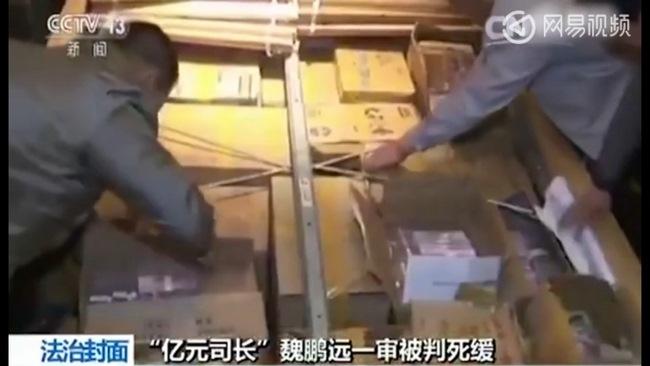 Video tiền chất trong nhà quan tham TQ, đếm cháy cả máy - 4