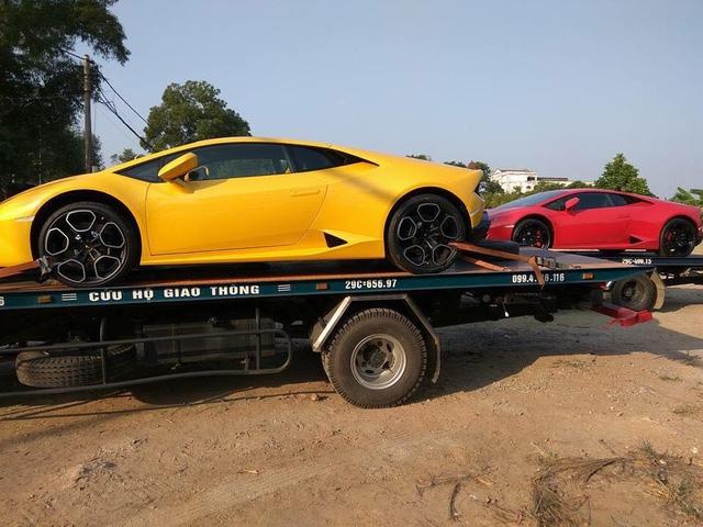 Bộ 3 siêu xe Lamborghini hơn 60 tỷ Đồng Nam tiến - Ảnh 2.