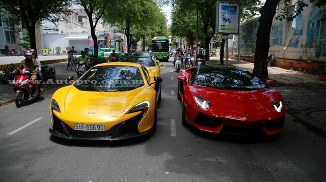 Bộ 3 siêu xe Lamborghini hơn 60 tỷ Đồng Nam tiến - Ảnh 3.