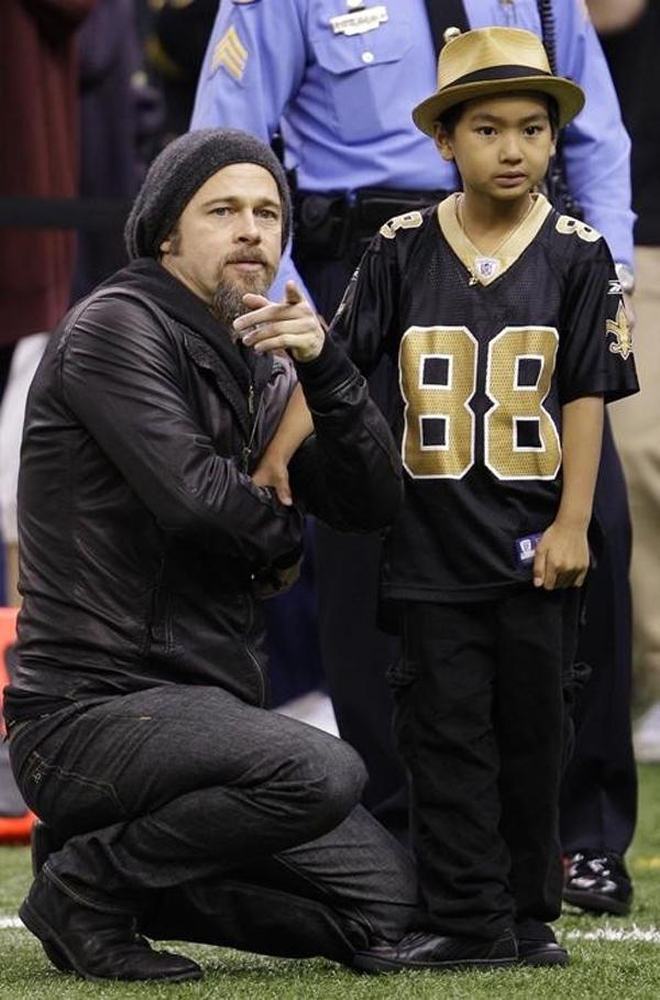 Brad Pitt và mối quan hệ phức tạp với cậu con trai cả Maddox - Ảnh 2.