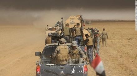 Quân đội Iraq tiến quân về giải phóng Mosul.