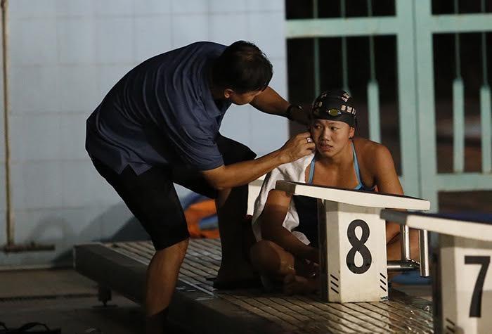Ánh Viên, Đặng Anh Tuấn, bơi lội, yêu đương