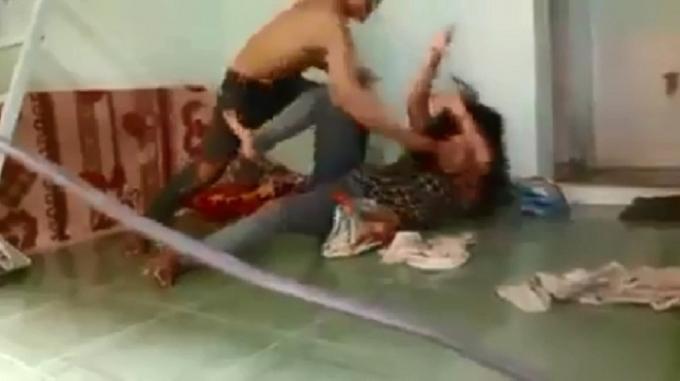 Kết quả hình ảnh cho Bị vợ dùng đòn gánh đánh, chồng yêu cầu xử lý hình sự
