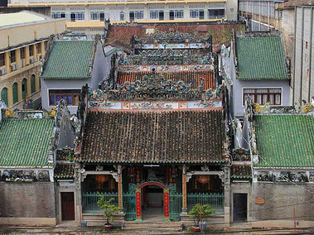 Chùa cổ gần 300 năm tuổi của người Hoa ở chợ Lớn - 1