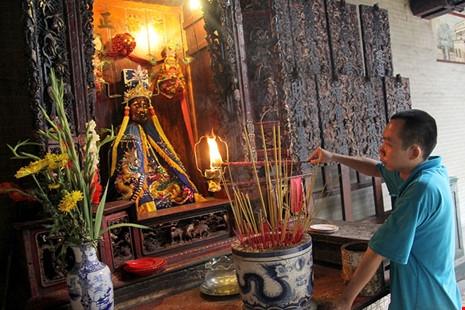 Chùa cổ gần 300 năm tuổi của người Hoa ở chợ Lớn - 7