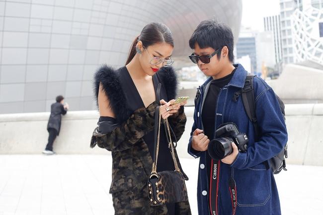 Lan Khuê & Mai Ngô biến thành 2 góa phụ đen trên tại Seoul Fashion Week - Ảnh 8.