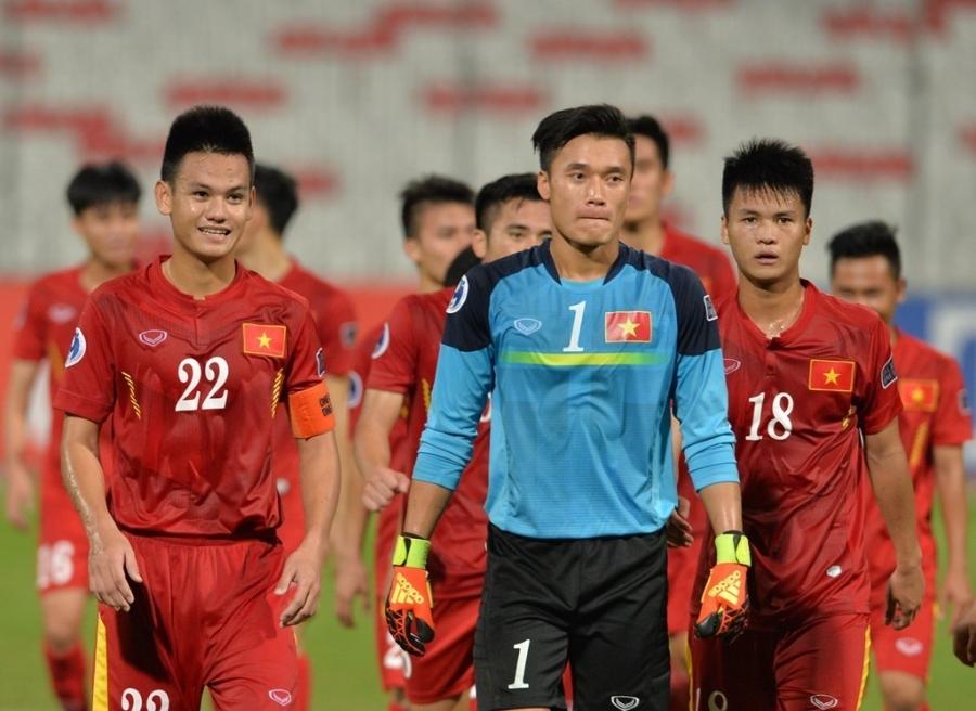 U19 Việt Nam quyết tâm đánh bại U19 Bahrain ở tứ kết giải U19 châu Á, qua đó giành vé tới World Cup U20 ở Hàn Quốc năm 2017. Ảnh: AFC.