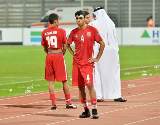 Cau thu Bahrain khoc nuc no vi thua U19 Viet Nam hinh anh 5