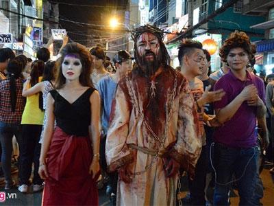 Những địa điểm thu hút giới trẻ Sài Gòn dịp Halloween