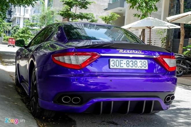 Maserati GranTurismo độ MC Stradale màu tím ở Sài Gòn - 3