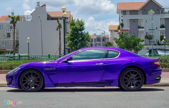 Maserati GranTurismo độ MC Stradale màu tím ở Sài Gòn - 4