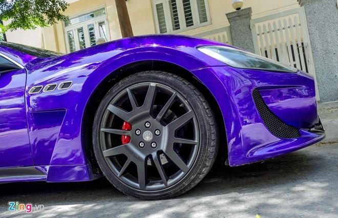 Maserati GranTurismo độ MC Stradale màu tím ở Sài Gòn - 6