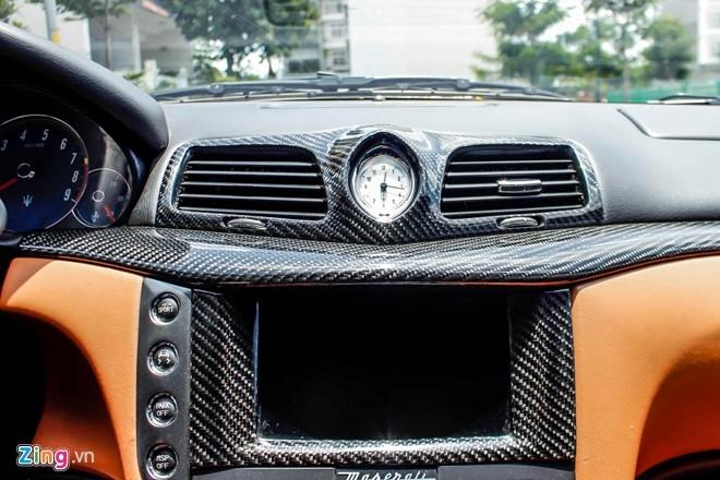 Maserati GranTurismo độ MC Stradale màu tím ở Sài Gòn - 9