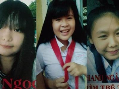Ba nữ sinh Đồng Nai 12 tuổi mất tích bí ẩn