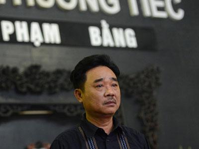 Gia đình, đồng nghiệp nghẹn ngào ở đám tang NSƯT Phạm Bằng
