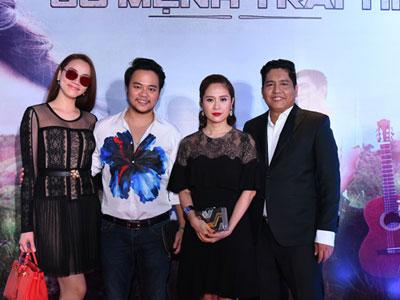 Vợ chồng Trang Nhung