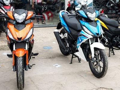 Honda Winner 150 màu mới về đại lý với giá 51 triệu Đồng, bao cả giấy tờ
