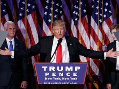 Donald Trump đắc cử tổng thống, nước Mỹ chia rẽ
