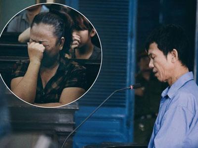 Cha vợ chém chết con rể: Nước mắt nghẹn ngào của người chị, người vợ, người con tại tòa