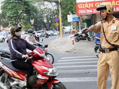 Sử dụng chung xe máy không bị phạt vì lỗi