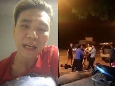 Thanh niên đánh dã man lái xe của ca sĩ Châu Việt Cường xuống Hà Nội xin lỗi