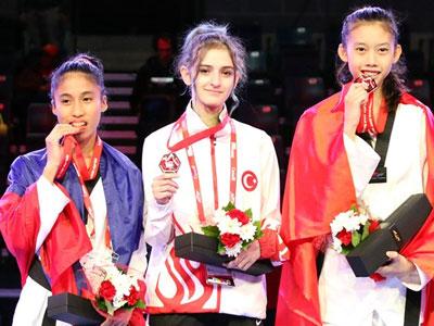 Việt Nam đoạt HCV Taekwondo trẻ thế giới sau 8 năm