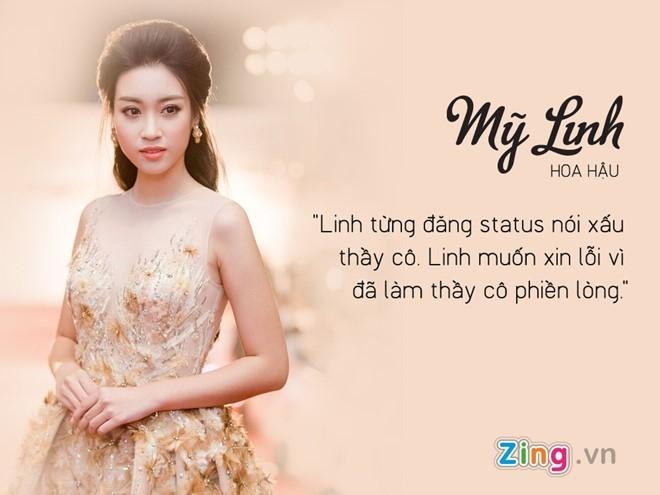 Hoa hau Do My Linh hoi han vi noi xau thay co tren Facebook hinh anh 2