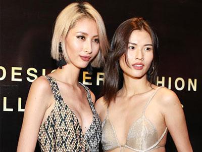 Người mẫu Next Top mặc đồ lót như áo thường đi họp báo